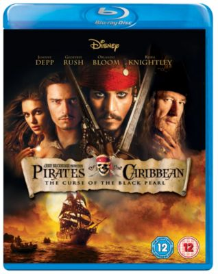 Pirates of the Caribbean:  The Curse of The Black Pearl Blu-ray