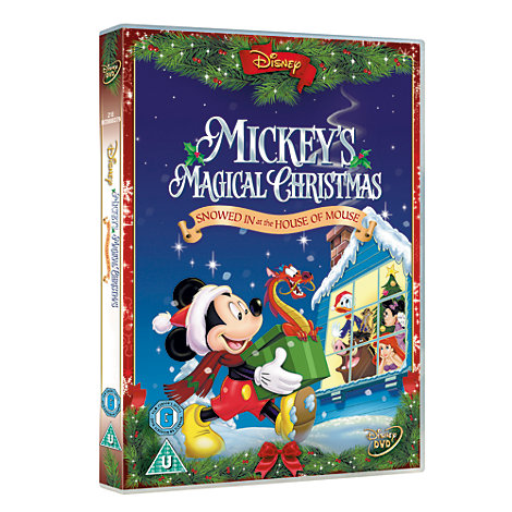 Mickey's Magical Christmas DVD