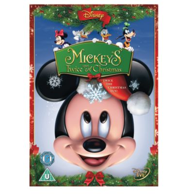 Mickey's Twice Upon A Christmas DVD