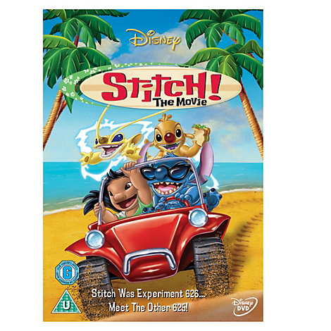Stitch: The Movie DVD