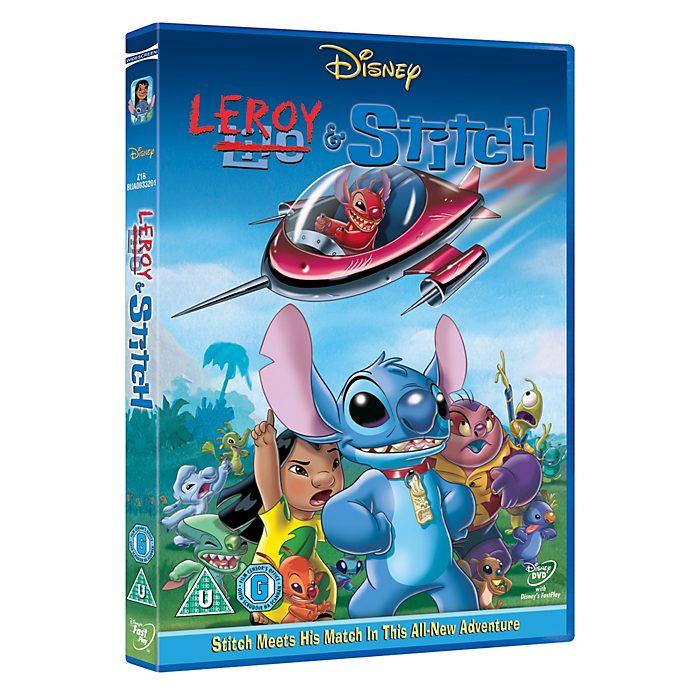 Leroy & Stitch DVD