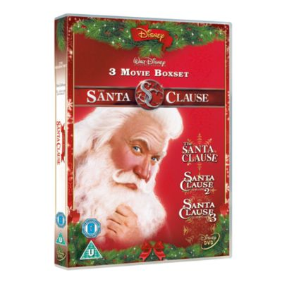 The Santa Clause Triple Pack DVD Boxset