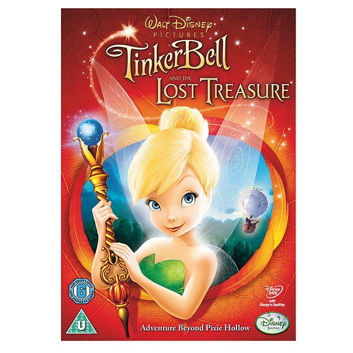 Tinker Bell and The Lost Treasure DVD