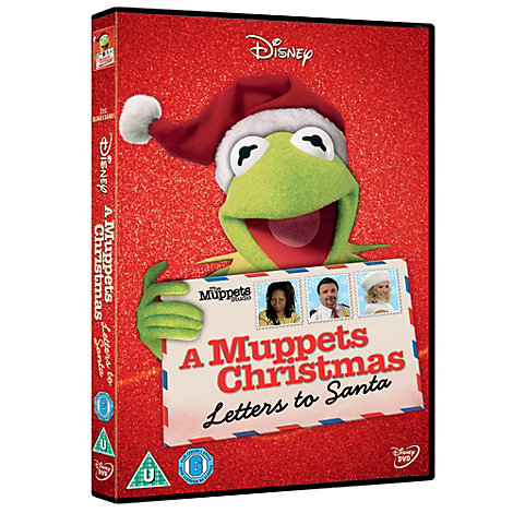 Muppets: Letters to Santa DVD A Muppets Christmas Letters To Santa