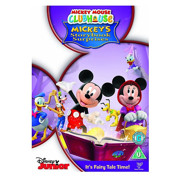 Mickey Mouse Clubhouse Storybook Surprises DVD