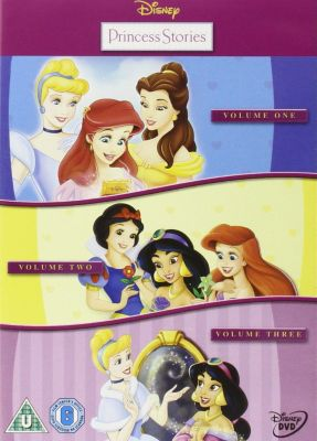 Princess Stories Vols 1-3 Triple Pack DVD Box Set