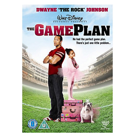 The Game Plan DVD