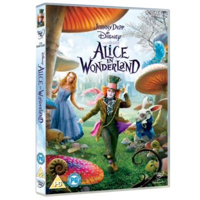 Tim Burton's Alice in Wonderland DVD