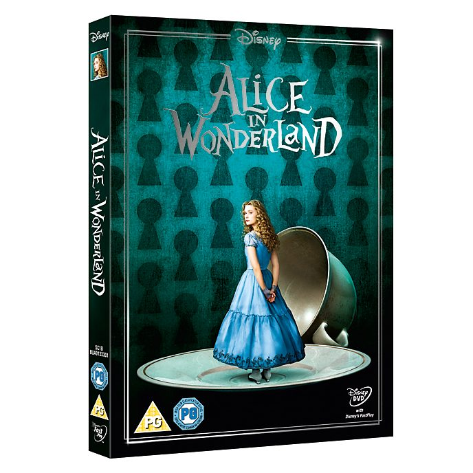 Tim Burton's Alice in Wonderland DVD