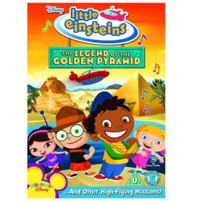 Little Einsteins: Legend of the Golden Pyramid DVD