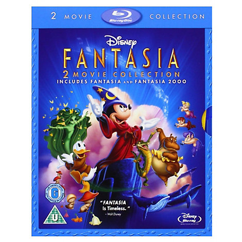 Fantasia & Fantasia 2000 Blu-ray Double Pack