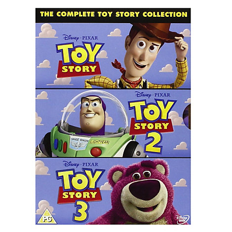 Toy Story DVD Triple Pack