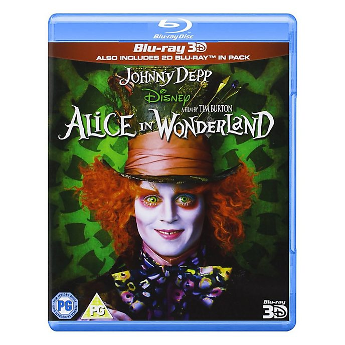 Alice in Wonderland 3D/2D Blu-ray