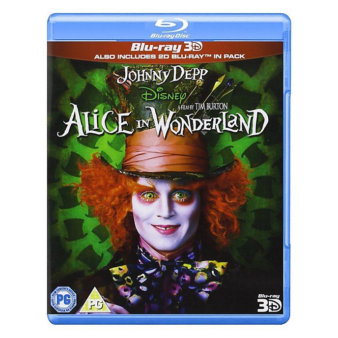 Alice in Wonderland 3D/2D Blu-ray