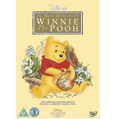 Image result for winnie the pooh dvd