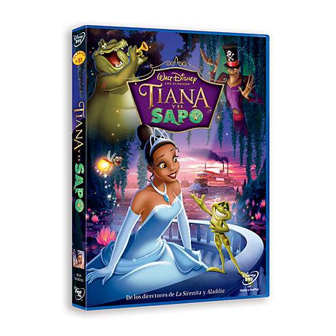 Tiana y el Sapo DVD