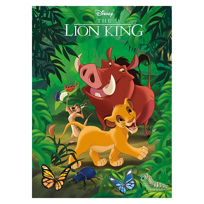The Lion King Magic Readers Book