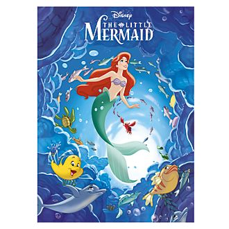 The Little Mermaid Magic Readers Book