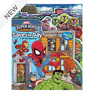Marvel Super Hero Adventures Book - Save the Day!