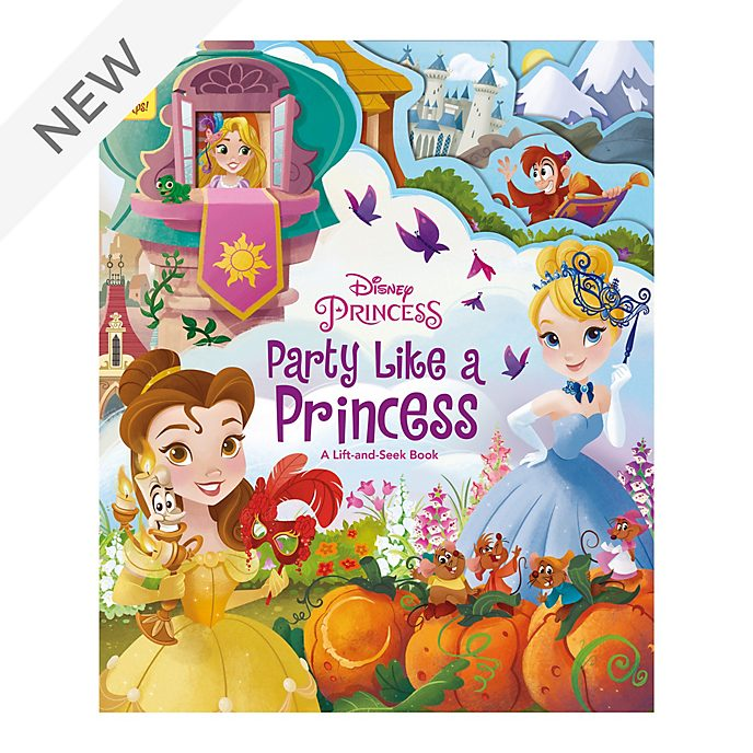 Party Like A Princess - Lift and Seek Book