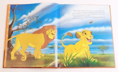 Lion King  Disney Movie Collection Book