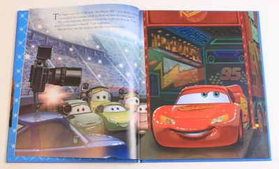 Cars - Disney Movie Collection Book