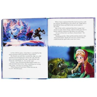 Disney Frozen Elsa's Book of Secrets (Disney Frozen Book of Secrets)