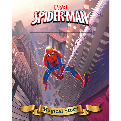 Marvel Spider-Man Magical Story Lenticular Cover
