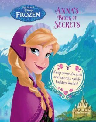 Disney Frozen Anna's Book of Secrets (Disney Frozen Book of Secrets)