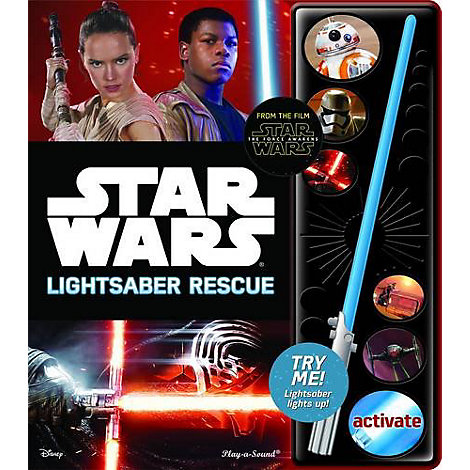 Little Sound Book Lightsaber Star Wars The Force Awakens Lightsaber Rescue