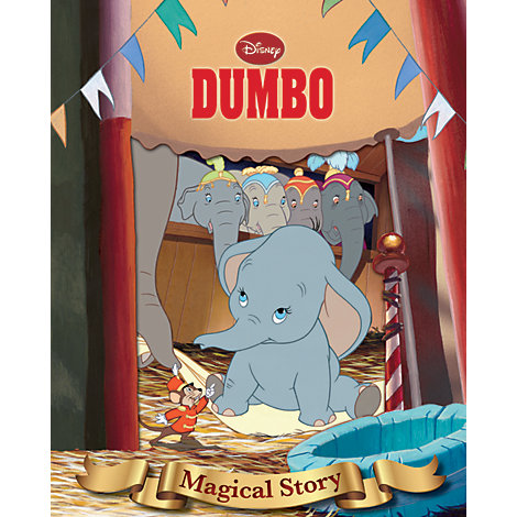 Disney Dumbo Magical Story with Lenticular