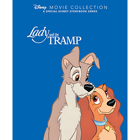Lady & The Tramp - Disney Movie Collection Book
