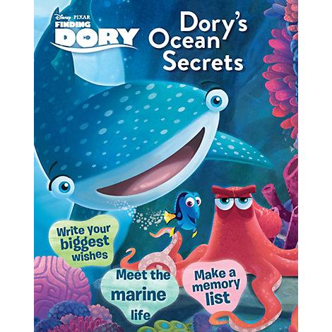 Disney Pixar Finding Dory Ocean Secrets Book
