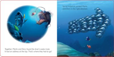 Finding Nemo Magical Story with Lenticular Cover