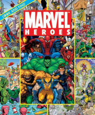 Marvel Look & Find Book
