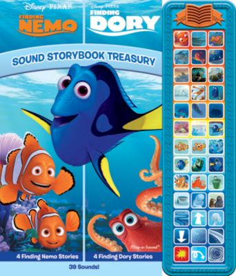 Sound Storybook Treasury - Finding Nemo/Finding Dory