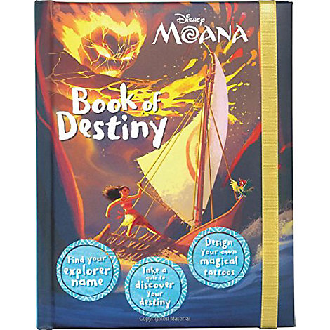 Moana Book of Secrets