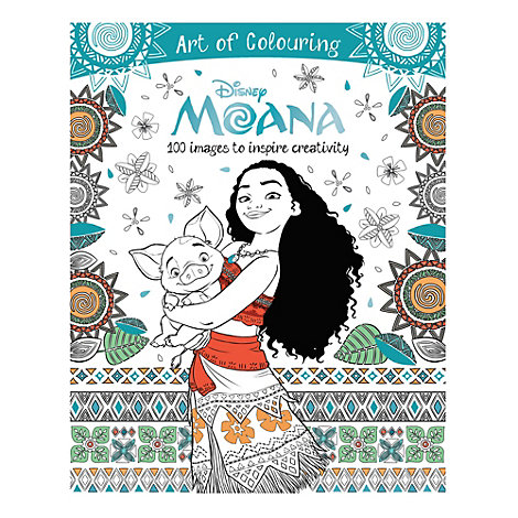 Moana Art of Colouring Book
