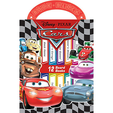 My First Library - Cars book set