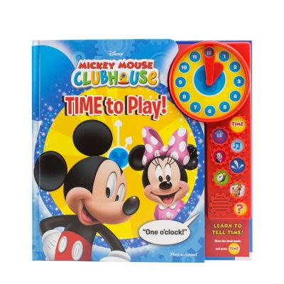 Mickey Mouse Clubhouse Book - Time To Play!