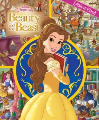 Beauty and the Beast Look & Find Book