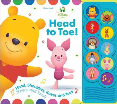 Listen & Learn Board Book Disney Baby - Head To Toe!
