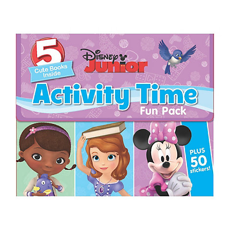 Disney Junior Activity Time Fun Pack