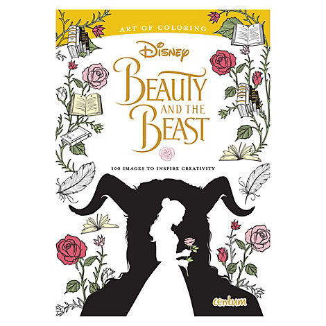 Beauty and the Beast Art of Colouring book