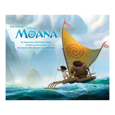 The Art of Moana Book