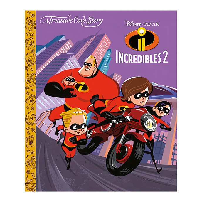 Incredibles 2 - a Treasure Cove story
