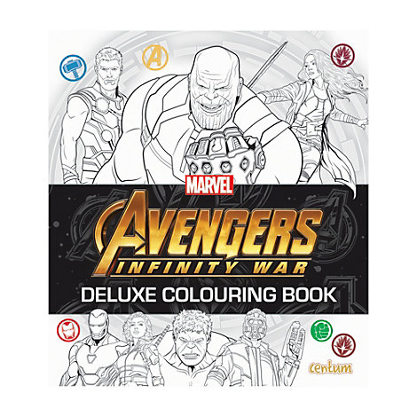 Avengers: Infinity War Deluxe Colouring Book
