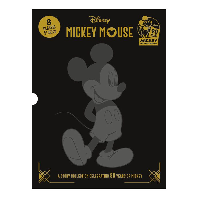 Mickey Mouse Deluxe Treasury - 90 Years of Mickey