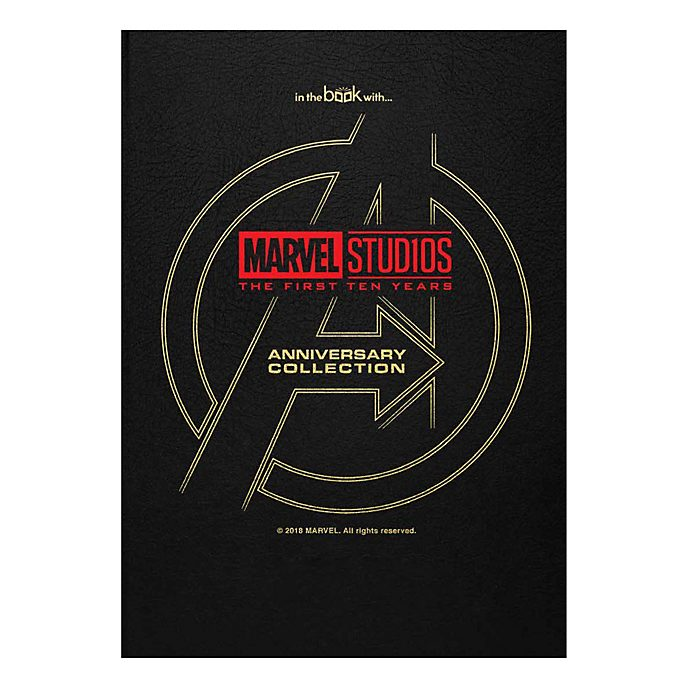 Marvel Studios 10 Year Anniversary Collection Book