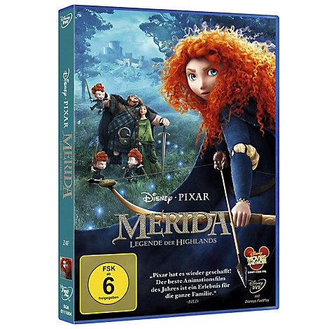 Merida - Legende der Highlands DVD